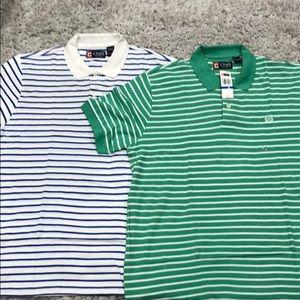 2 Chaps polo shirts